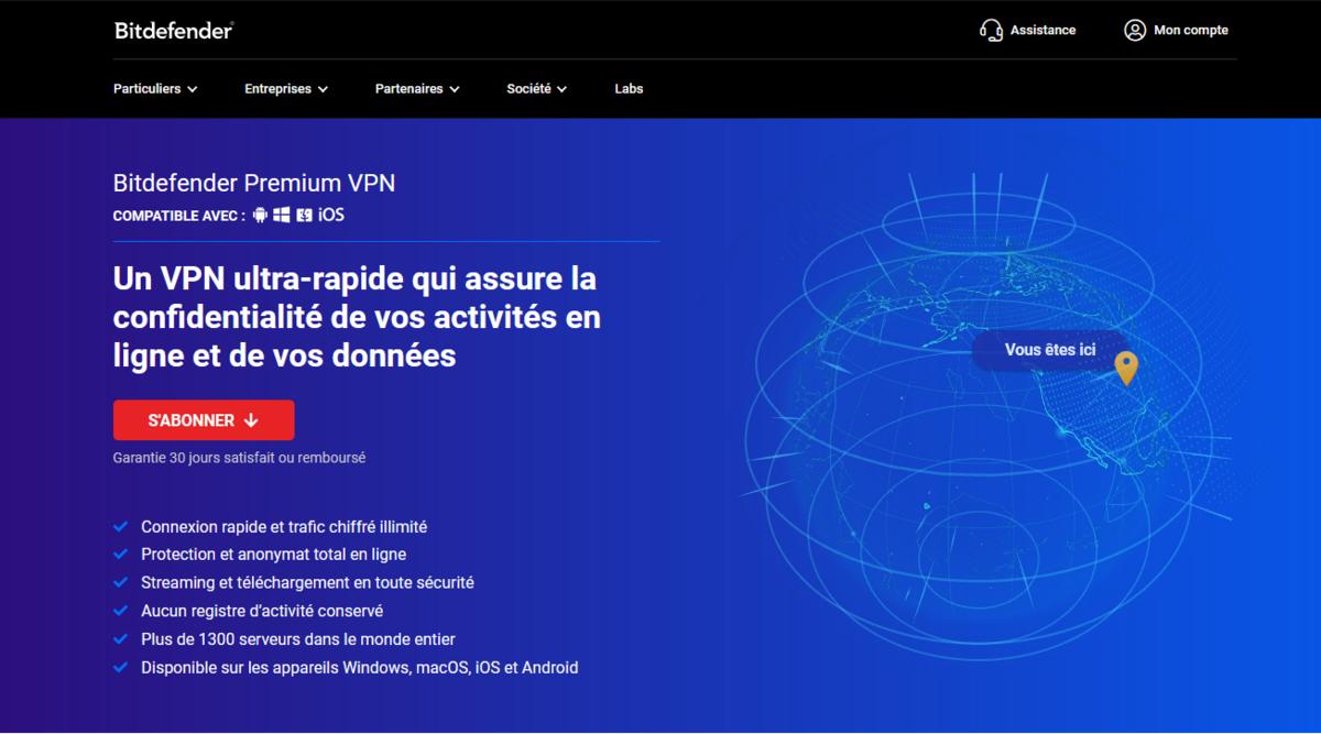 Bitdefender VPN © Bitdefender