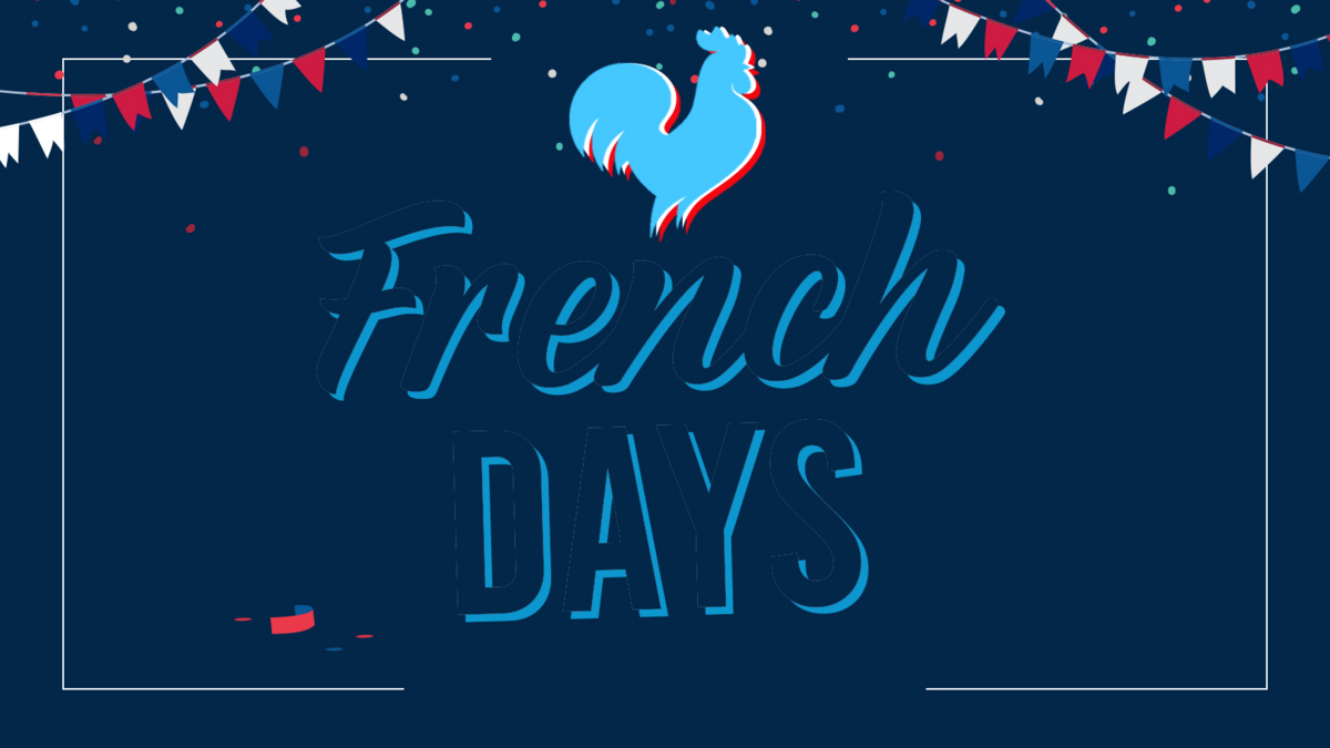 French Days all blue