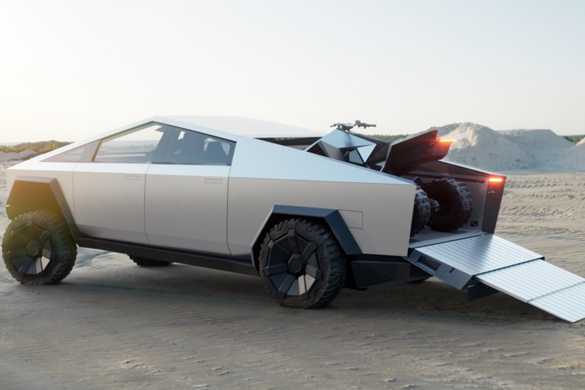 Cyberquad Tesla cybertruck © Tesla Motor
