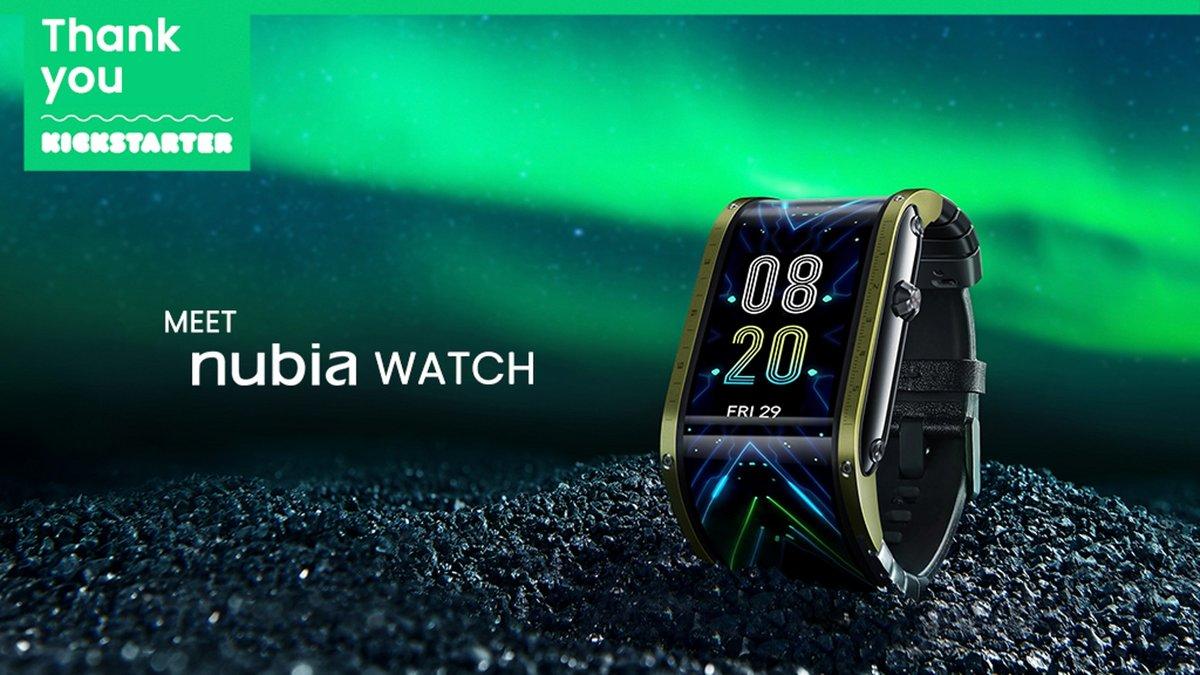 Nubia Watch © Kickstarter