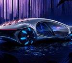 Mercedes-Benz dévoile son concept de véhicule électrique inspiré du film Avatar