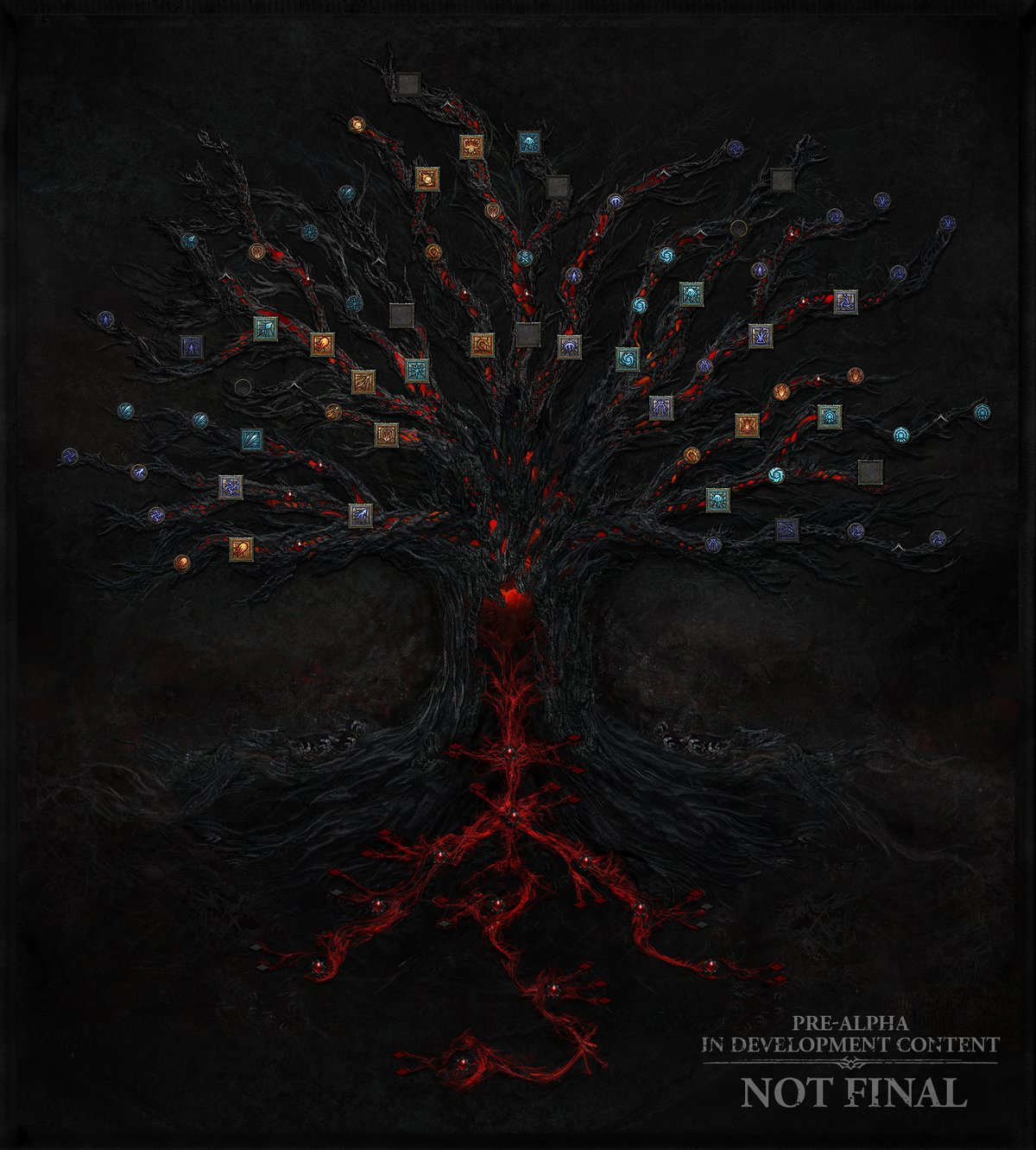 Diablo 4 arbre © Blizzard