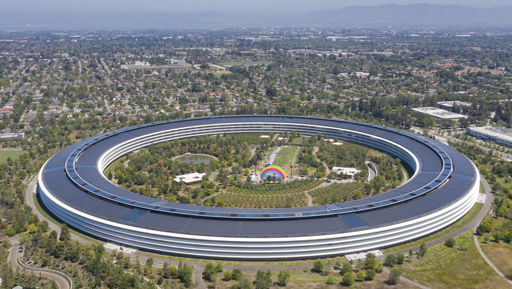 Apple HQ © Wikipedia