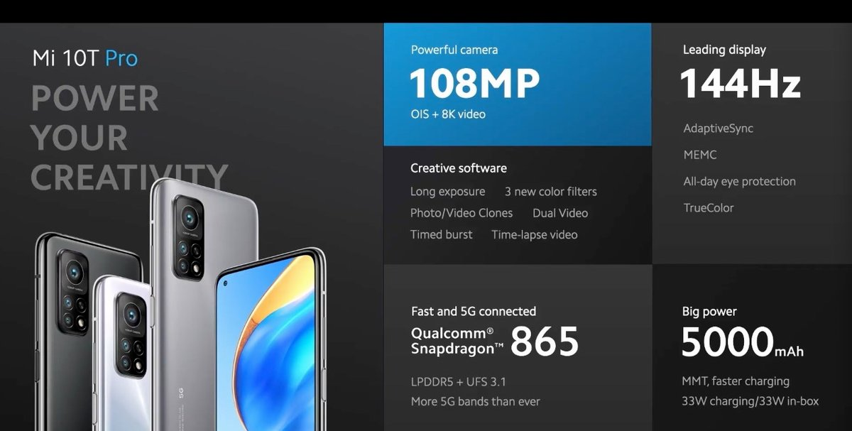 Xiaomi Mi 10T Pro © ©Xiaomi