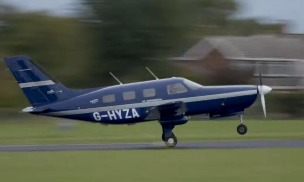 Piper M avion à hydrogène © ZeroAvia