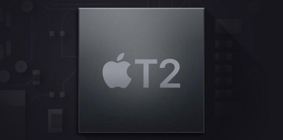 Apple T2 chipset © ©Apple