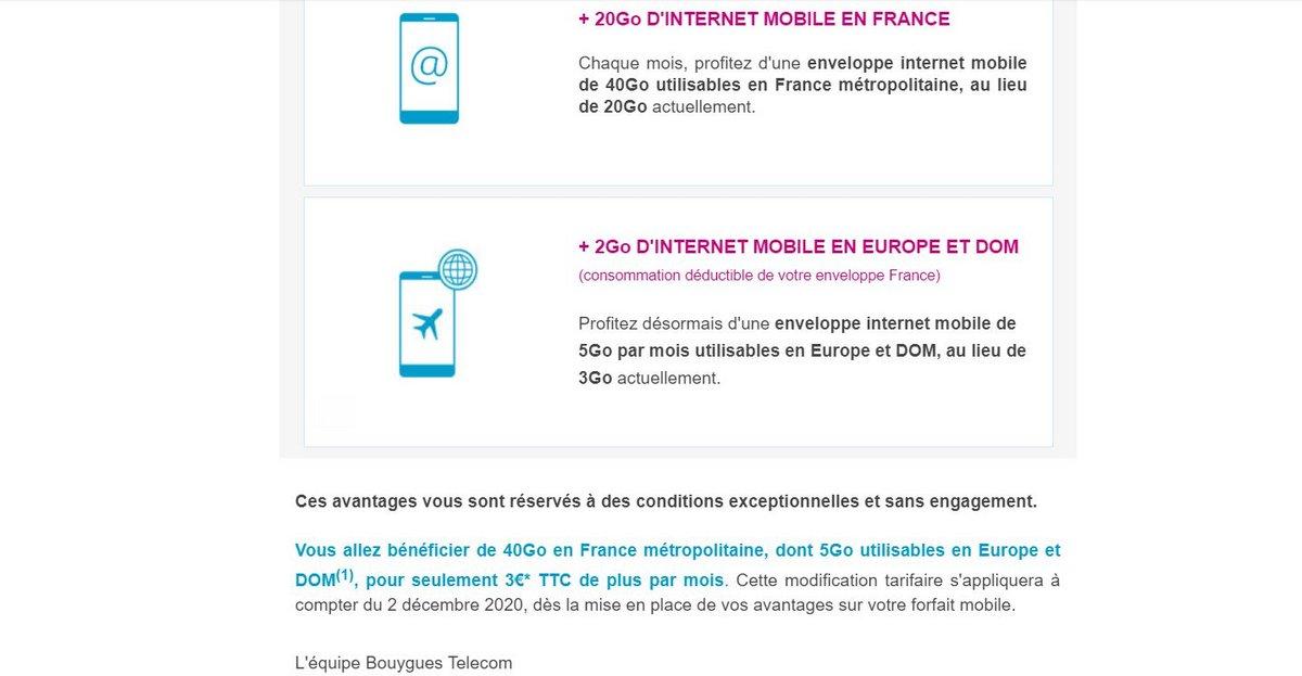 Bouygues Telecom hausse de prix © Clubic