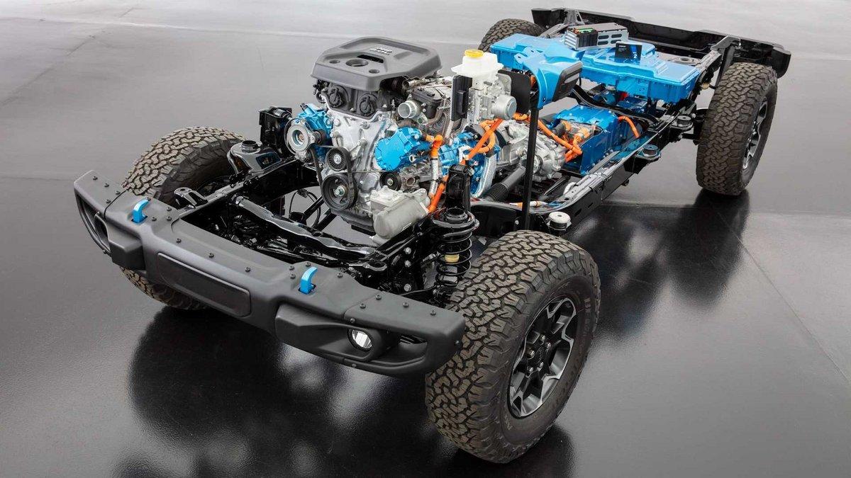 Jeep Wrangler 4xe © Jeep