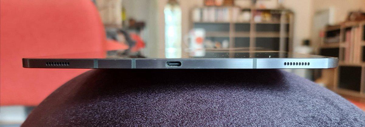 Galaxy Tab S7+ - connecteur USB-C © Clubic - Marc Mitrani