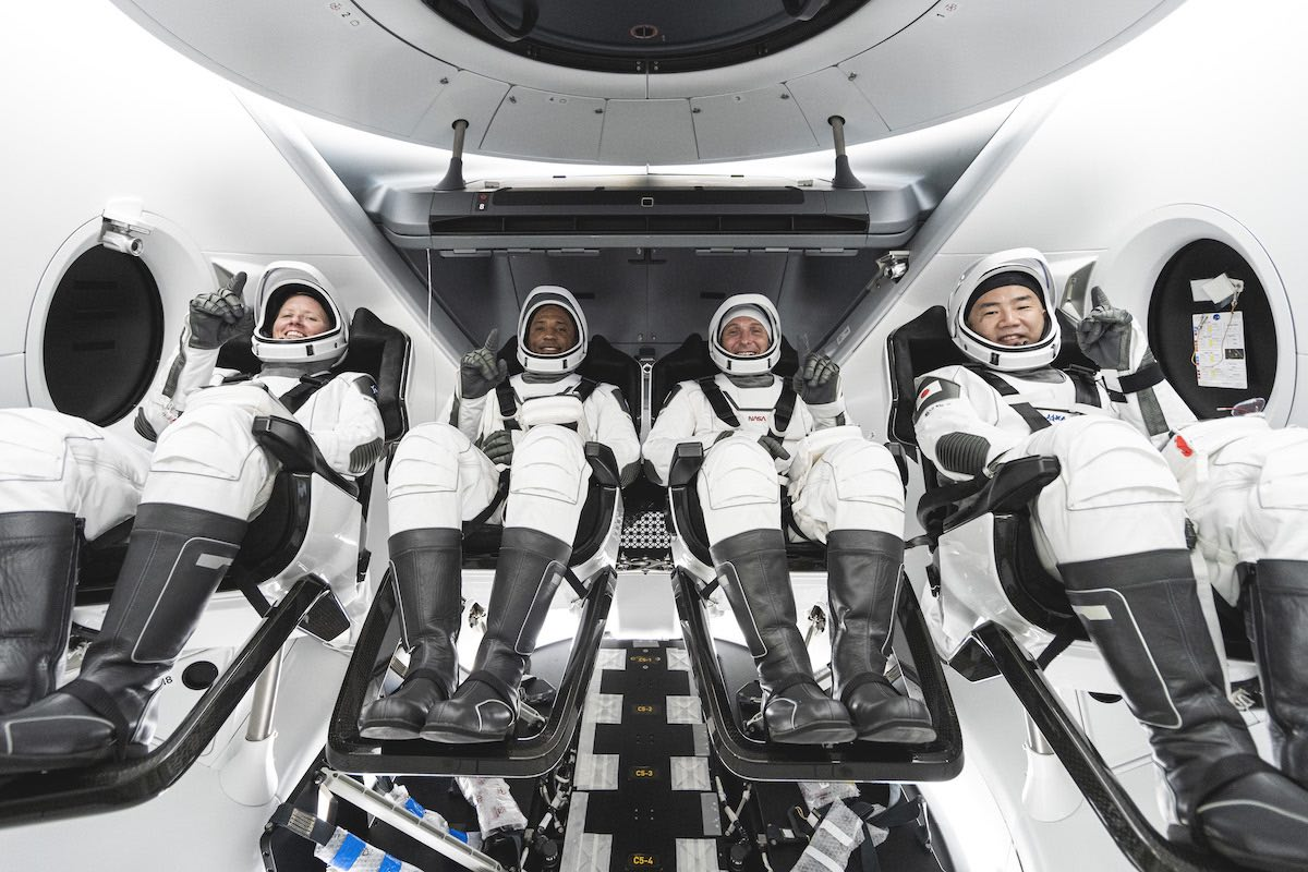 Crew-1 SpaceX Dragon Crew © SpaceX