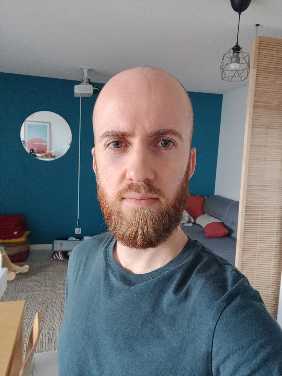 selfie oneplus 8T
