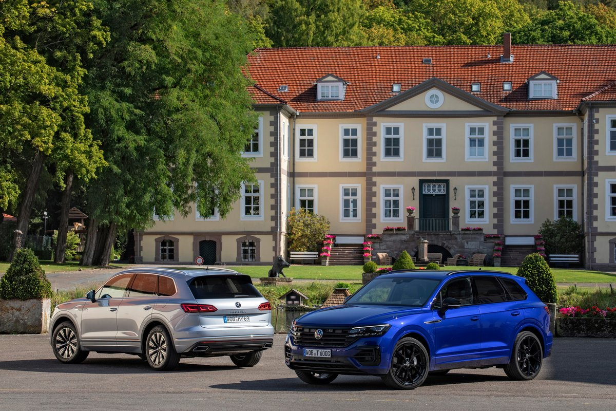 Touareg eHybrid R © VW