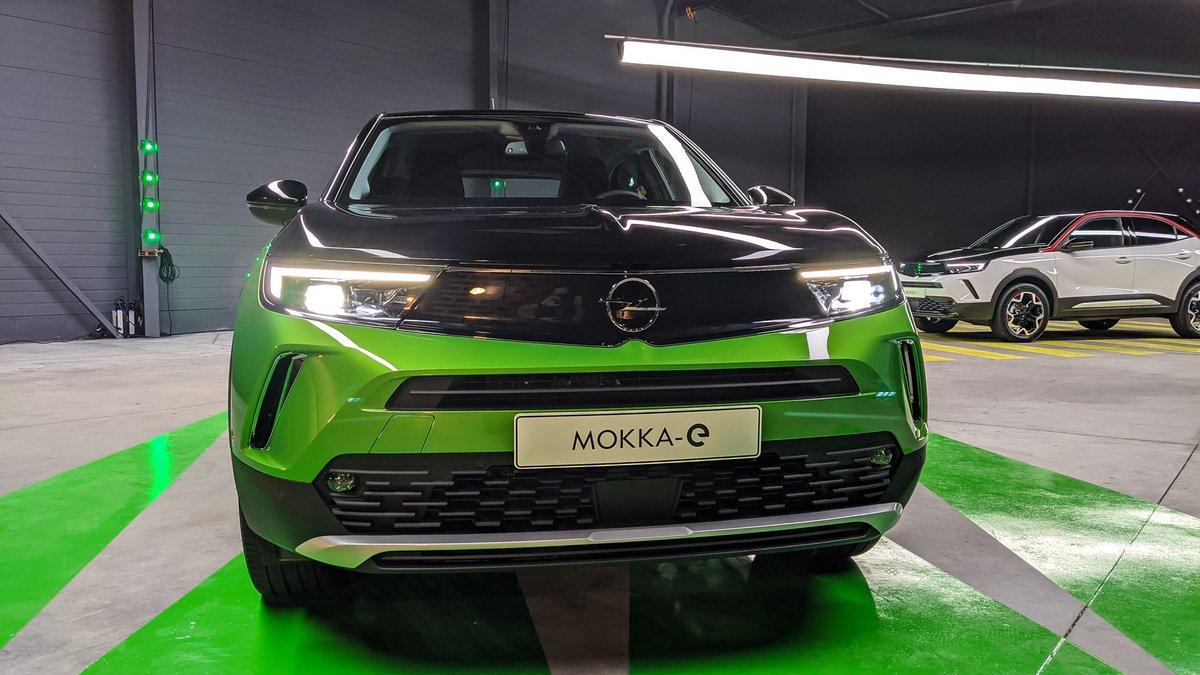 Opel Mokka-e reprend l'Opel Vizor © David Nogueira