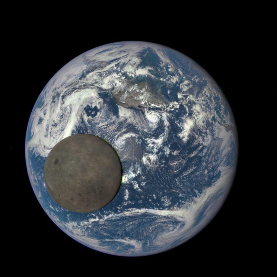 Lagrange Terre-Lune © NASA