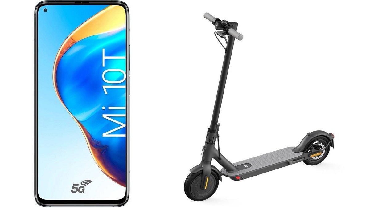 offre Xiaomi Mi 10T trottinette Mi Electric Scooter