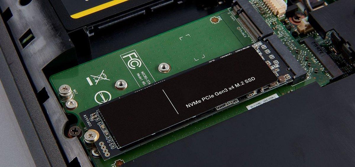 SSD dans un laptop