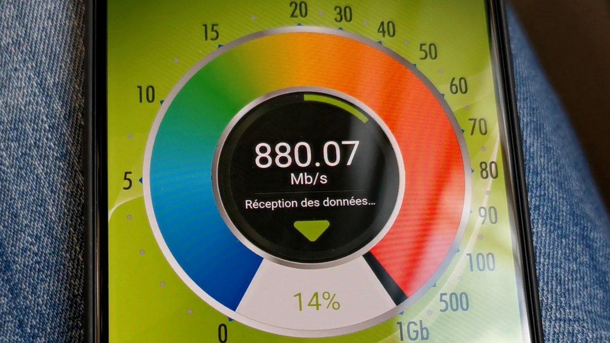 Tests débits 5G Monaco © Alexandre Boero pour Clubic