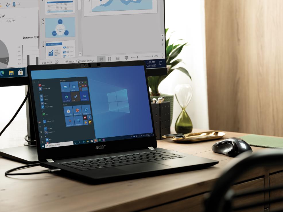 Windows 10 Pro © Microsoft