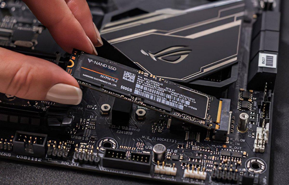 Installation, montage SSD NVMe