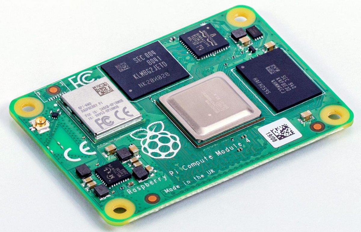 Raspberry Pi Compute Module 4 © Raspberry Pi