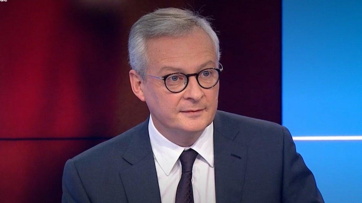 Bruno Le Maire © France 3