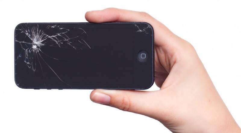 Smartphone cassé © PxHere / Creative Commons
