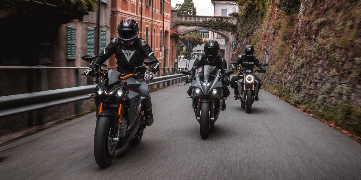 Energica motos électriques © Energica