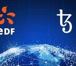 Le groupe EDF s'implique dans la blockchain française Tezos (XTZ)