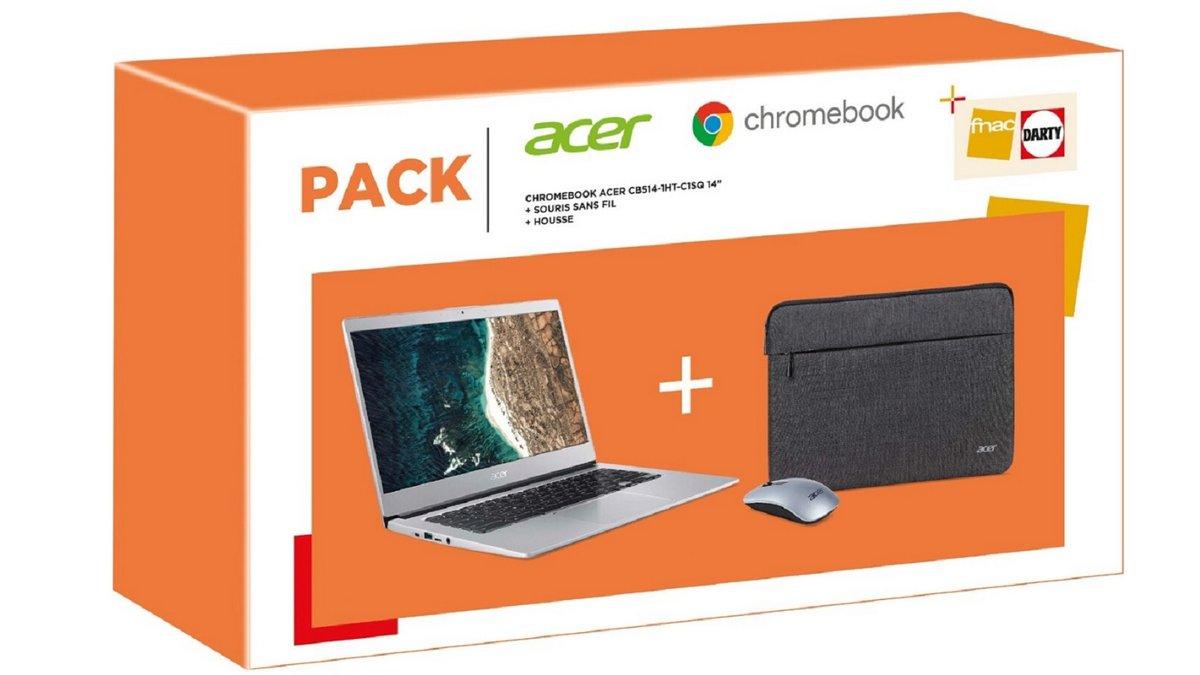 Pack Acer Chromebook BP