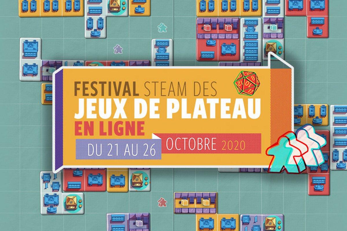 Festival Steam jeux de plateau © steam