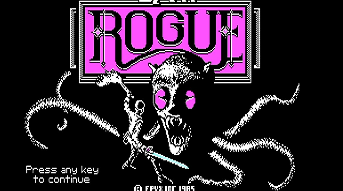 Rogue © Epyx, Inc.