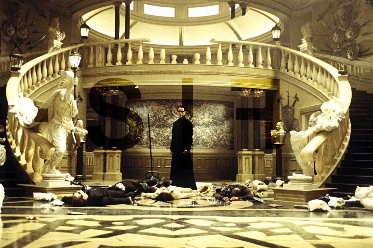 Matrix Reloaded SF © Warner Bros x Clubic.com