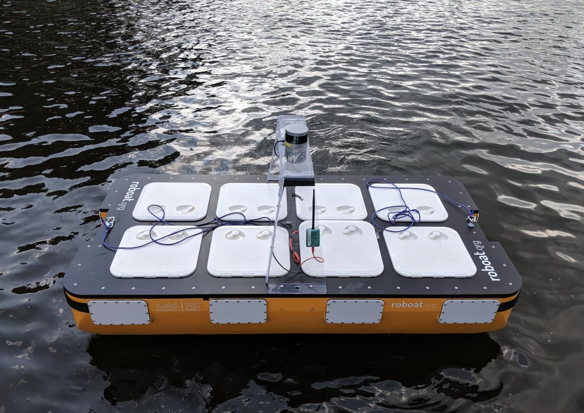 MIT bateau autonome © MIT