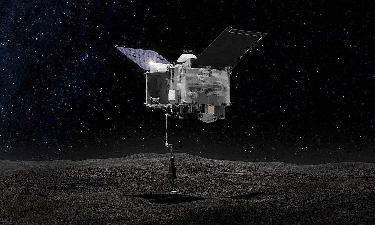 OSIRIS REX NASA sample 2 © NASA