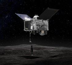 OSIRIS-REx aurait capturé plus de 60 grammes de roches de l'astéroïde Bennu