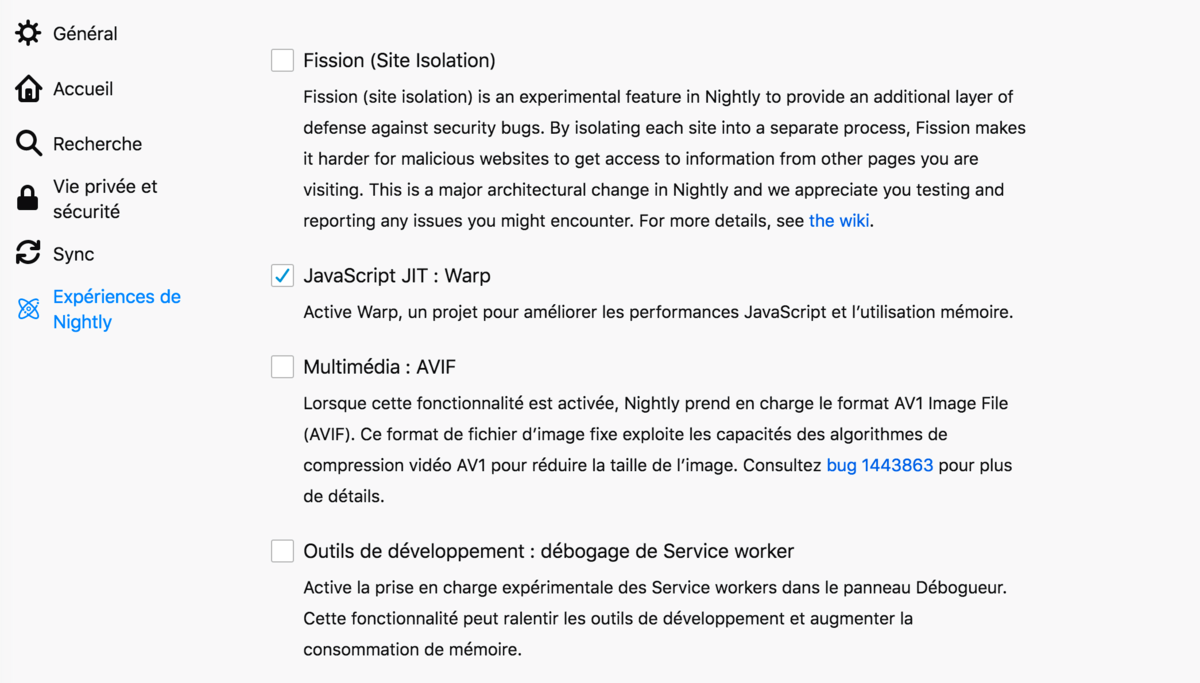 firefox fission test
