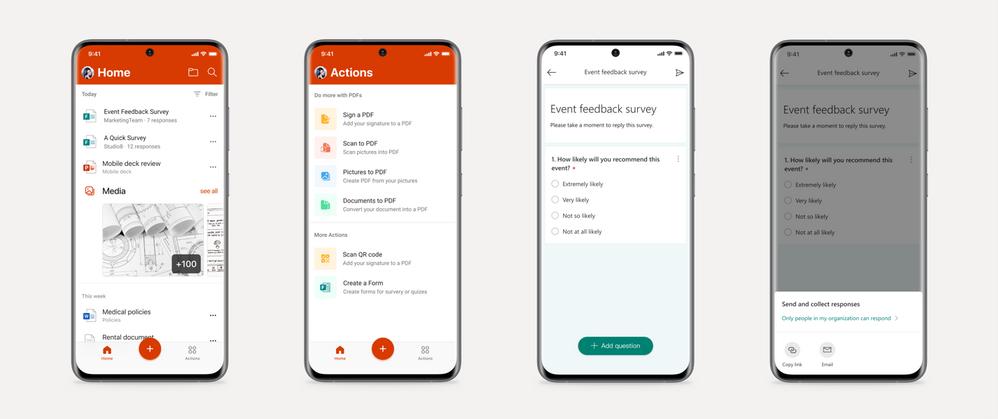 Microsoft Forms mobile