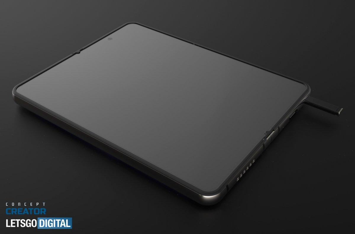 Samsung Galaxy Z Fold 3 S-Pen © © LetsGoDigital