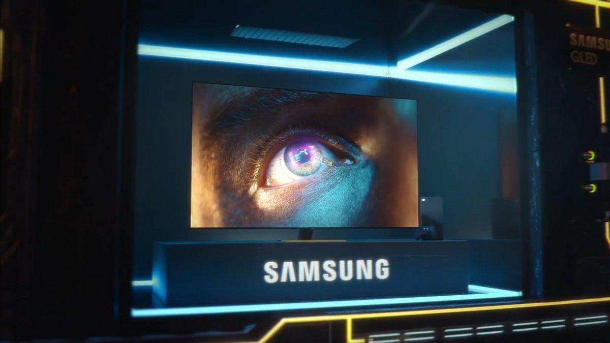 TV Samsung Cyberpunk 2077