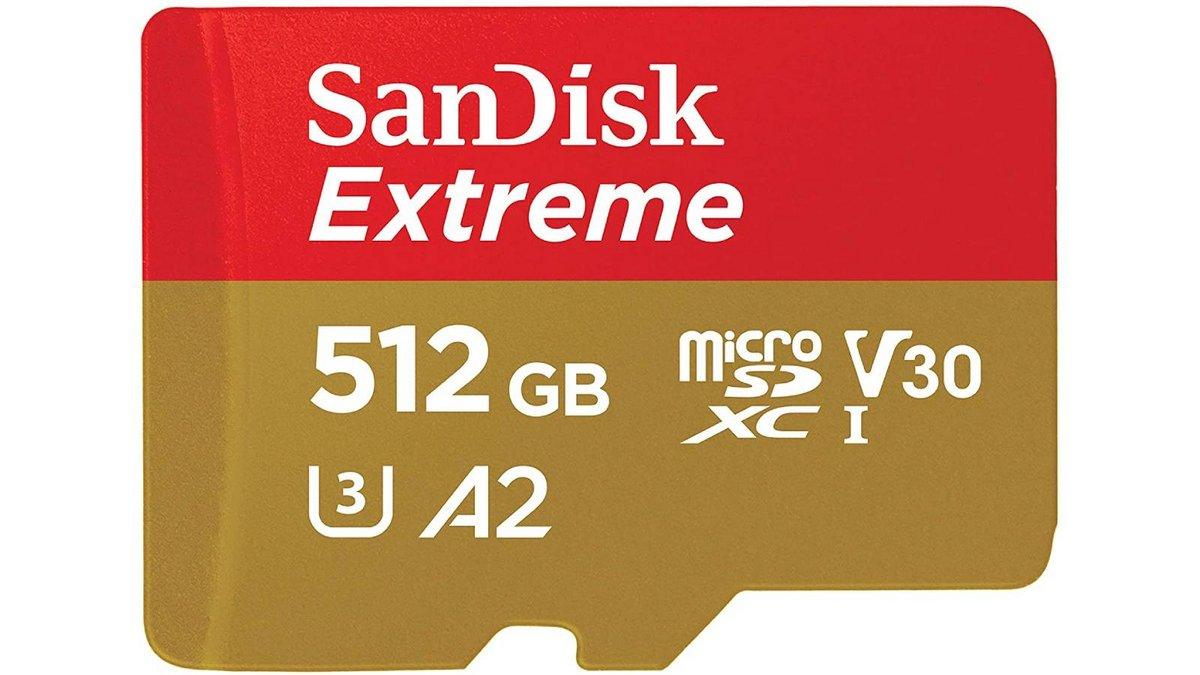 SanDisk Extreme 512 Go