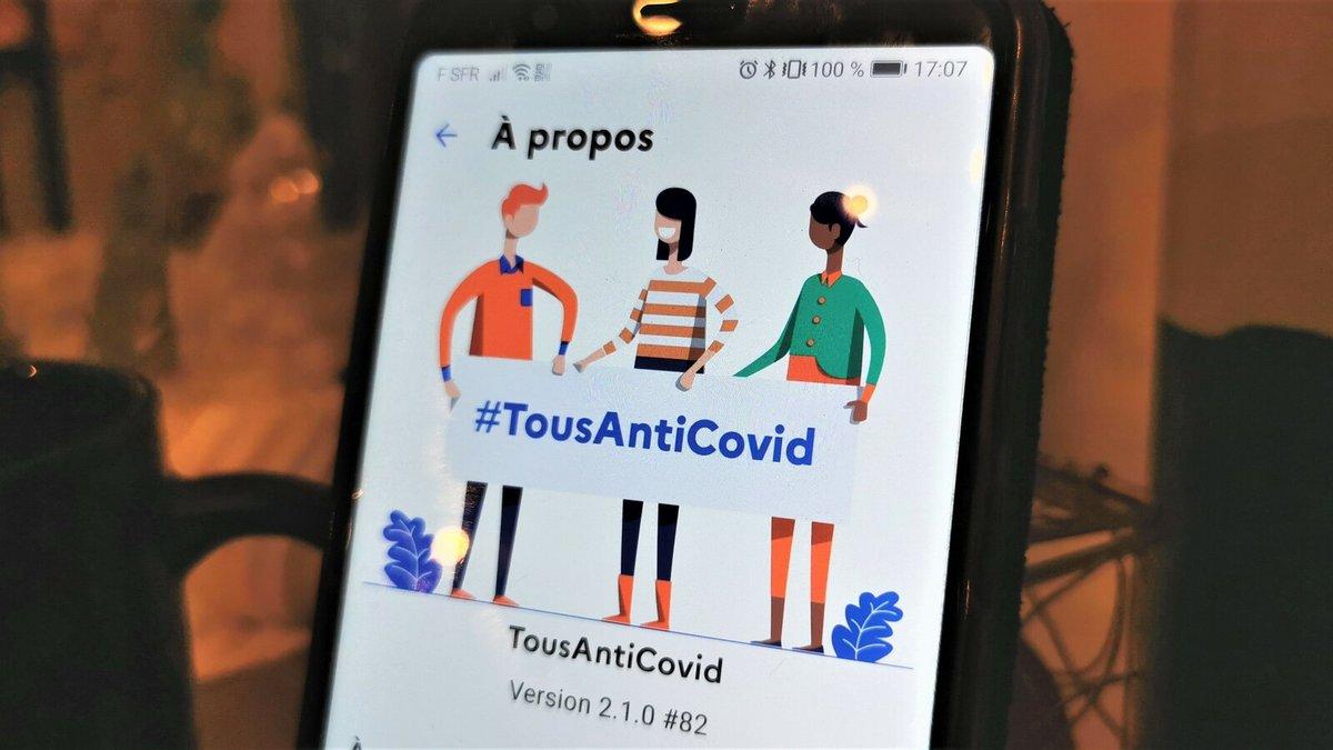 TousAntiCovid logo © Alexandre Boero pour Clubic