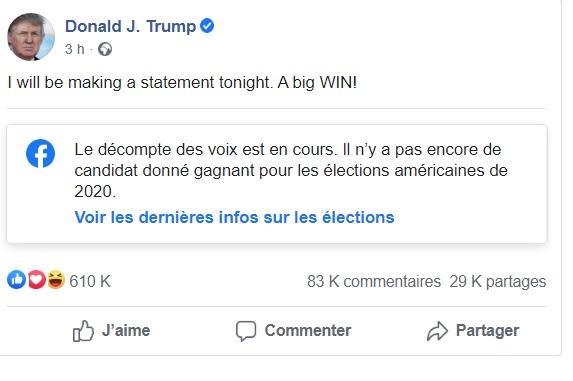 Donald Trump Facebook