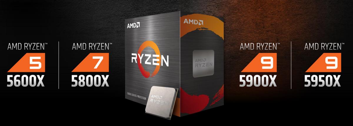 AMD Ryzen série 5000 © AMD