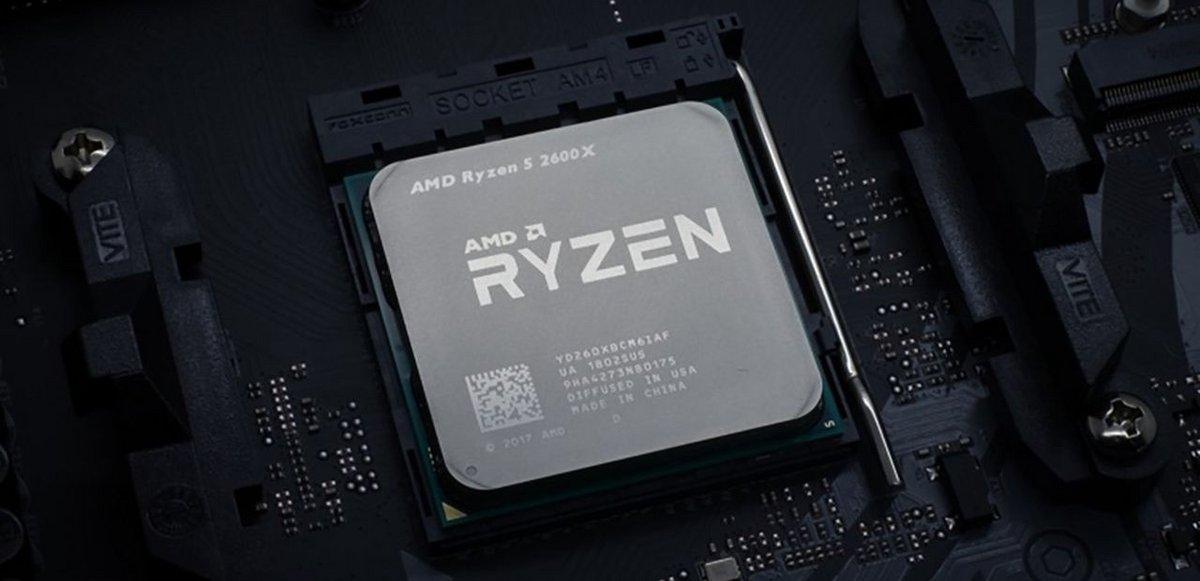 AMD Ryzen 5 2600X © AMD