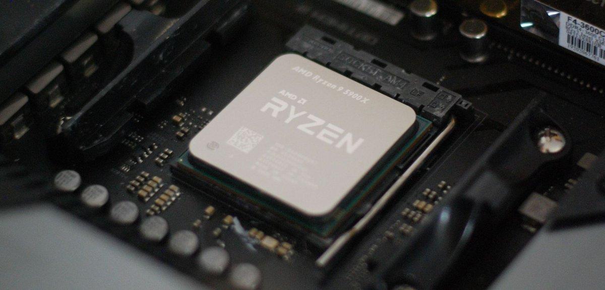 AMD Ryzen 9 5900X © AMD