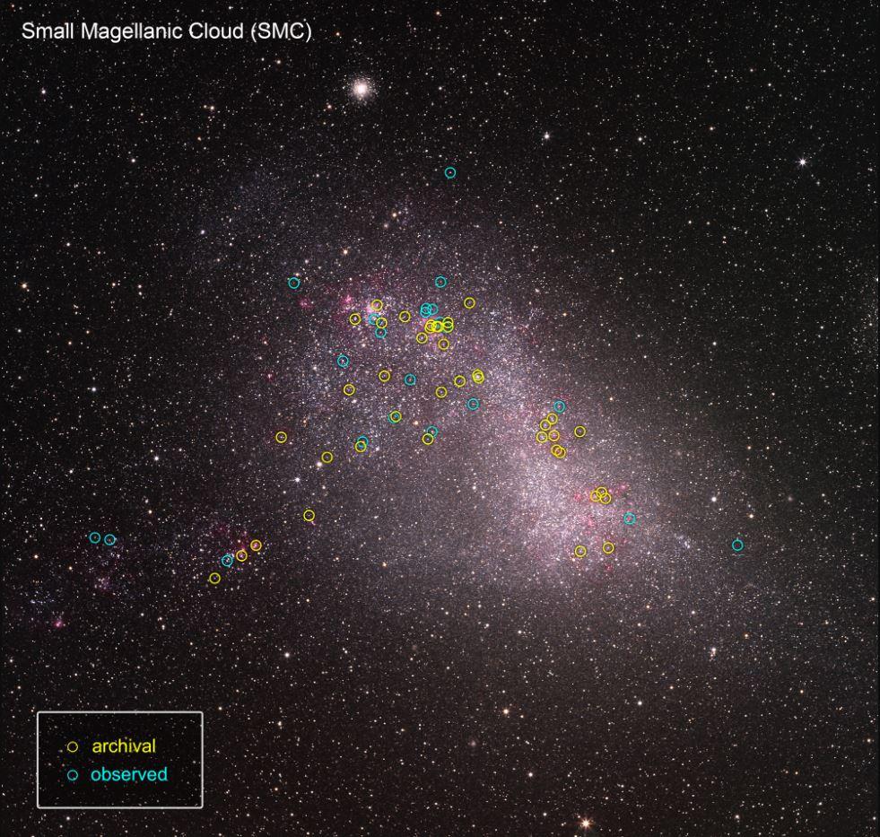 Hubble Small Magellanic Cloud Etoiles UV © NASA, ESA, J. Roman-Duval (STScI), ULLYSES program, and S. Guisard