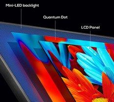 Outre leur pic lumineux, les dalles Mini LED jouissent d'un bel avantage face à l'OLED