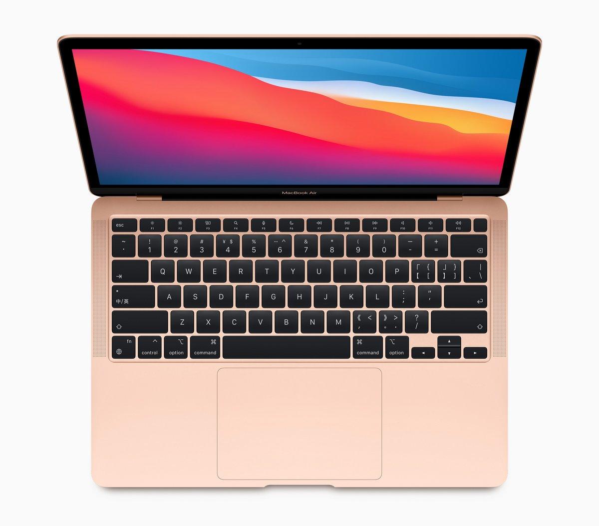 MacBook Air 13 pouces ARM © Apple