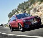 BMW présente son SUV électrique iX avec 500 ch et 600 km d'autonomie