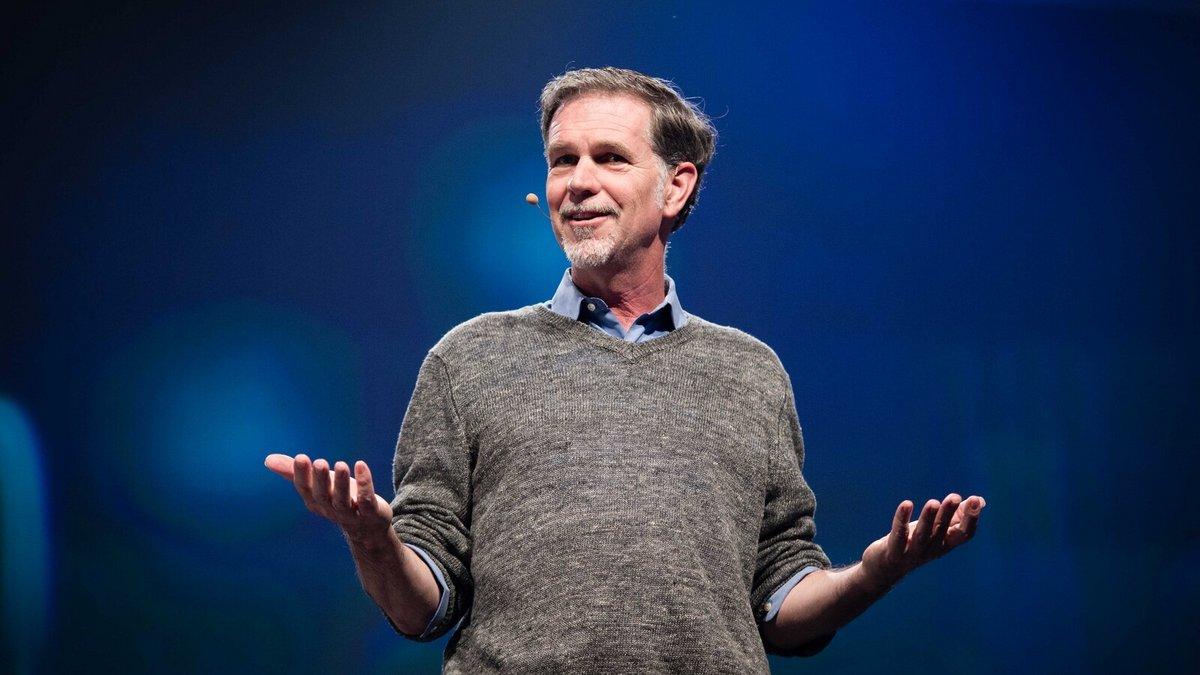 Reed Hastings © Creative Commons / re:publica/Gregor Fischer